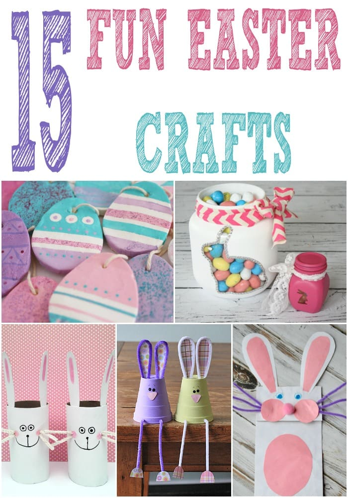 Are you ready for Easter break with the kids? If you need some fun ways to keep the kids entertained, try these easy Easter crafts for kids. Easter crafts are so much fun and an affordable way to decorate the home.