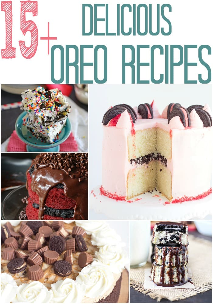 Love Oreo's? Yum! Check out these delicious Oreo recipes. Perfect for creating an easy dessert.