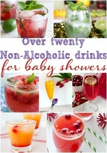 20 Non-Alcoholic Baby Shower Drinks