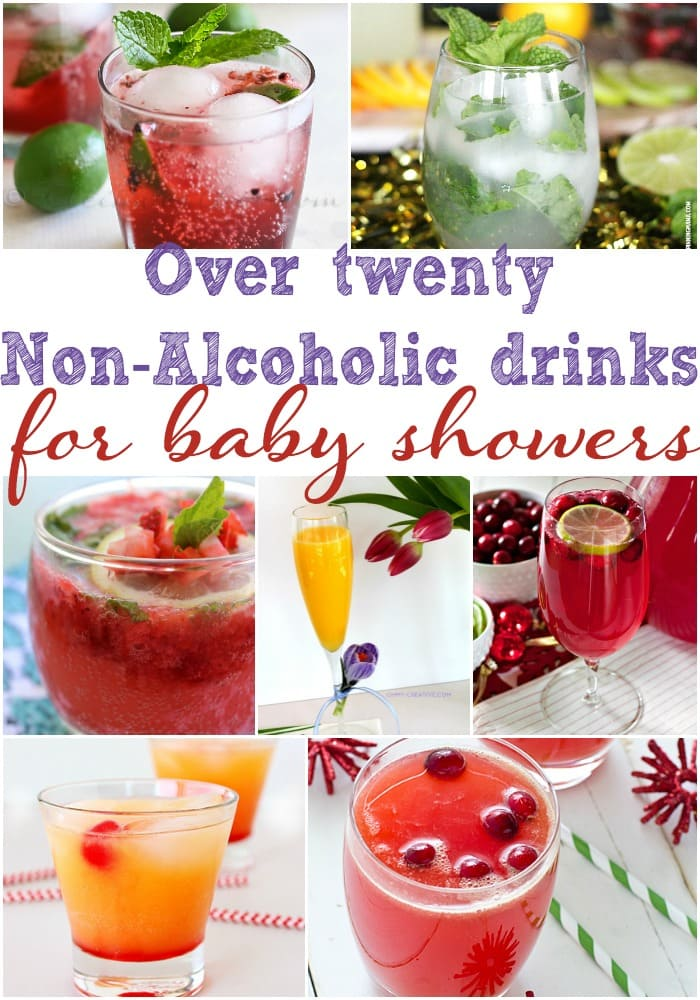 Need some non-alcoholic baby shower drinks? These mocktails are perfect for any baby shower.