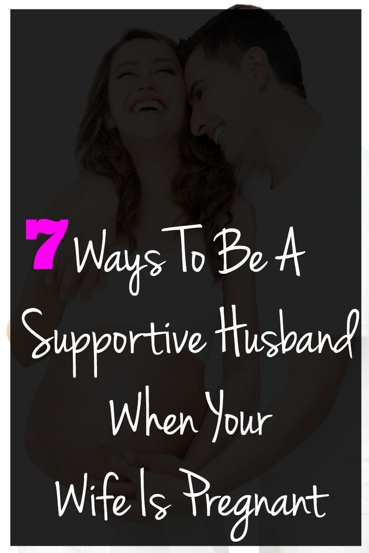 husband support pregnant wife