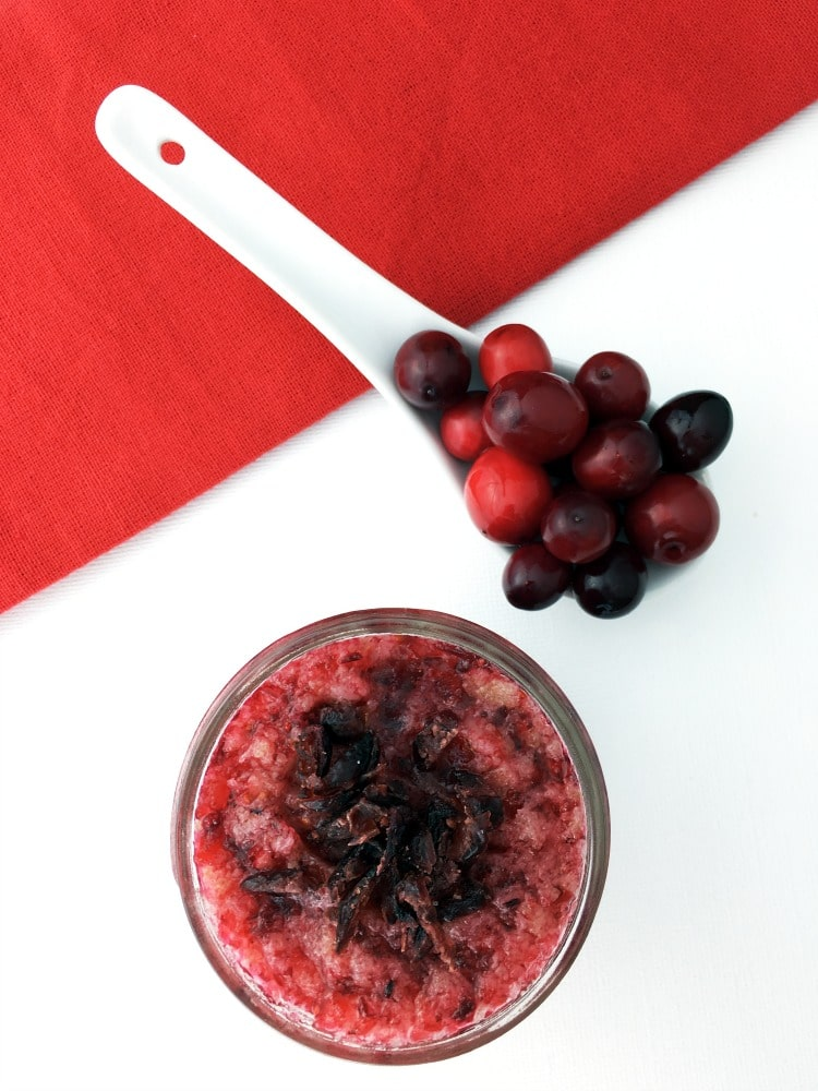 Cranberry Sugar Scrub #4