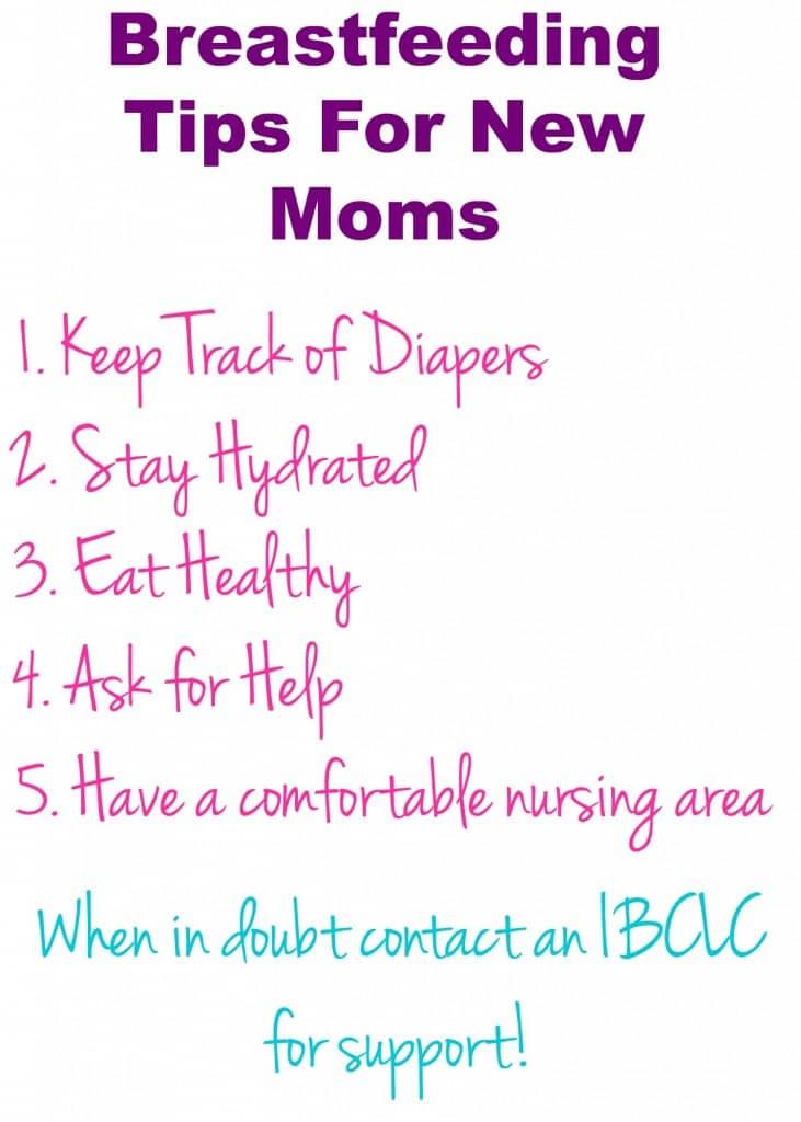 breastsfeeding tips