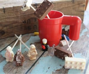 LEGO Hot Cocoa Stirrers