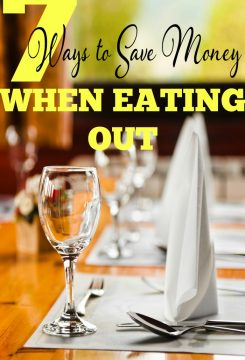 Use these simple tips to save money when eating out at restaurants.
