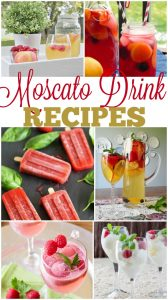 Love a great glass of wine? These Moscato drink recipes are so tasty, you might not even realize you're drinking wine. Moscato | drinks for adults | wine recipes