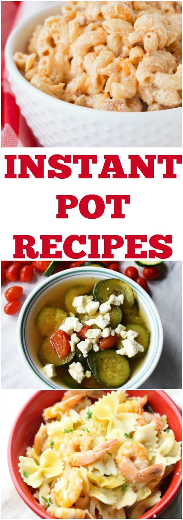 Delicious Instant Pot recipes! Easy Instant Pot Recipes. Instant Pot soup recipes. Instant recipes