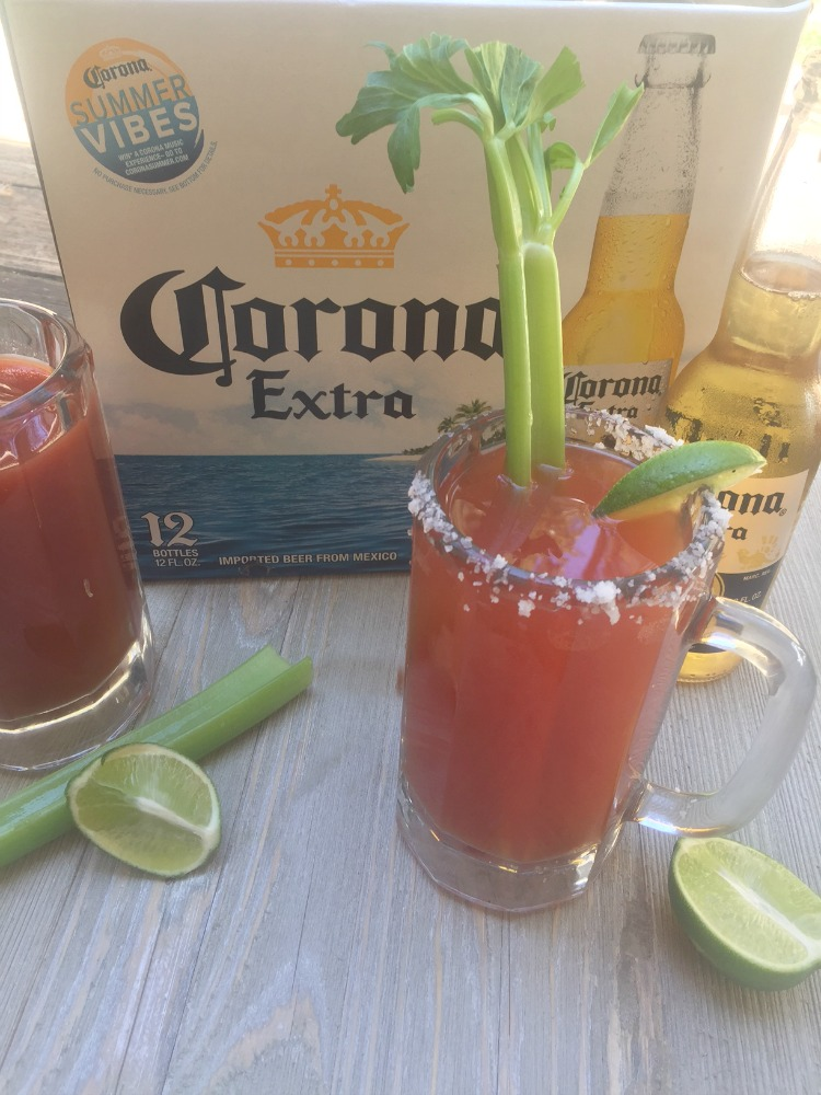 Looking for a fun party drink? Tasty and easy alcoholic drinks are perfect any adult party. This easy chavela drink recipe is made using beer. It's spicy and will remind you of a bloody mary with beer.