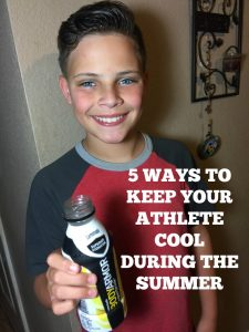 5 Ways to Keep Your Child Athlete Cool During the Summer Heat