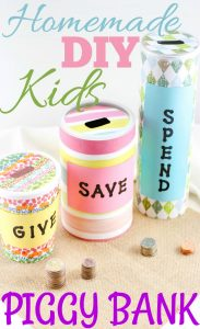 Homemade Piggy Bank Ideas for Kids