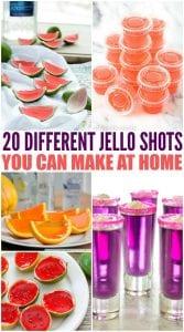 Twenty Unique Jello Shots Recipes