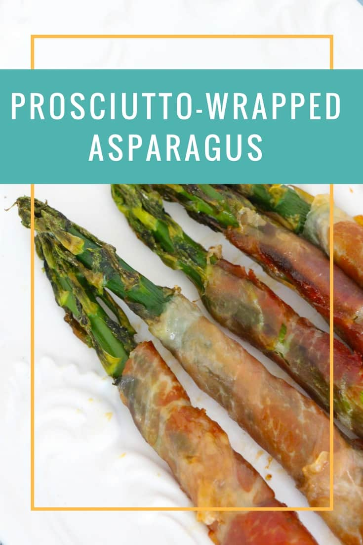 This prosciutto wrapped asparagus is an easy appetizer and so tasty!