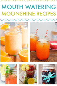 Mouth Watering Homemade Moonshine Recipes