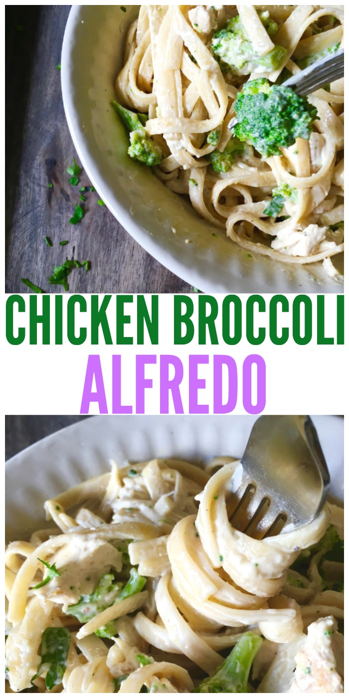 This chicken broccoli is delicious and so easy to make! You'll love this quick and easy dinner idea.