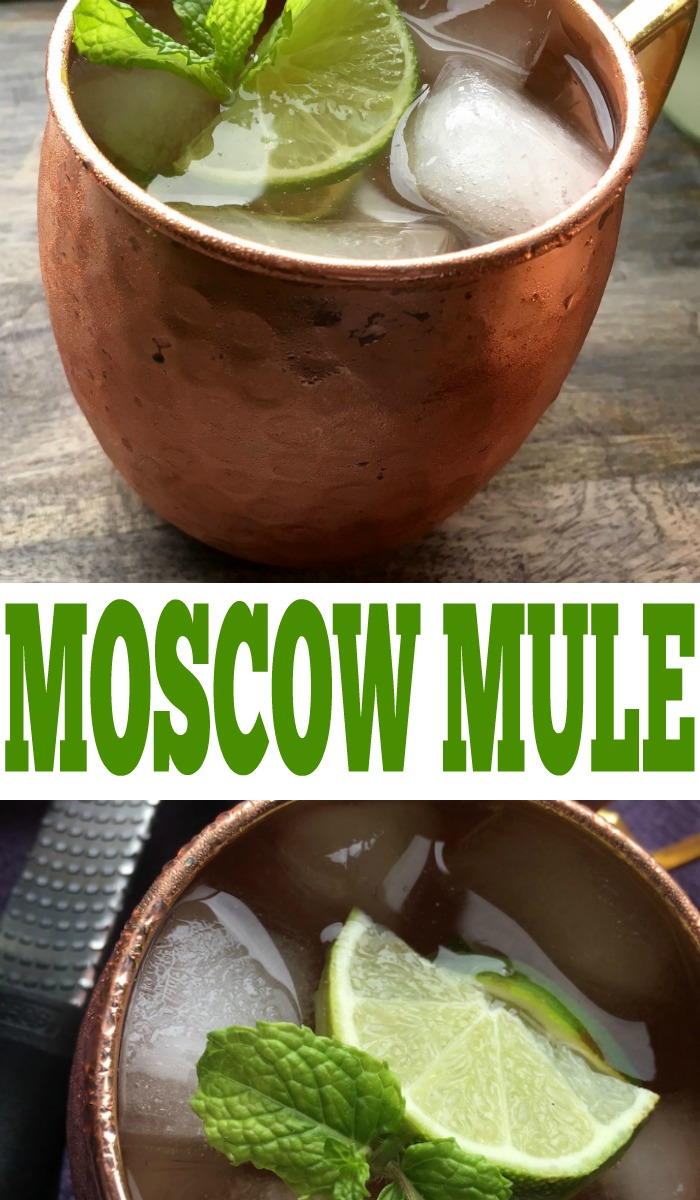 The best Moscow Mule recipe. So easy and tasty, it's the perfect party drink.