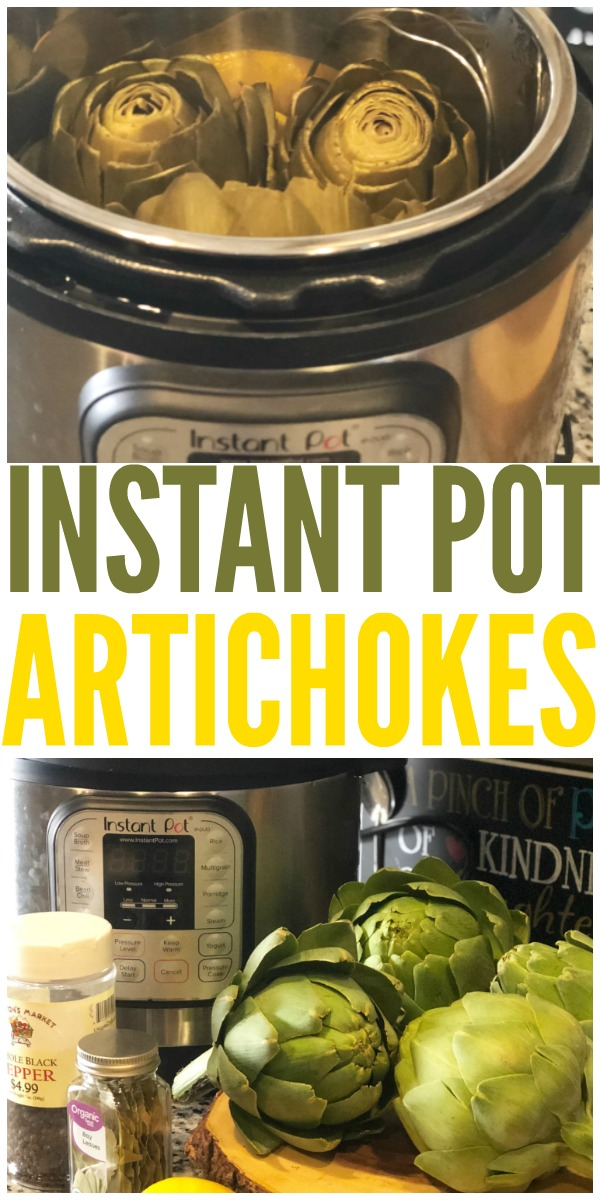 If you love artichokes, this recipe is for you! These instant pot artichokes cook up so quick. You'll be hooked!