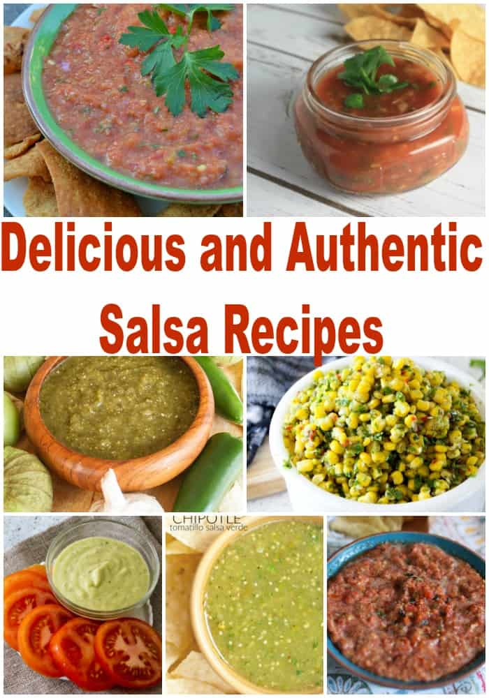 These easy salsa recipes are super yummy and very authentic. If you love authentic salsa recipes, you'll love these!