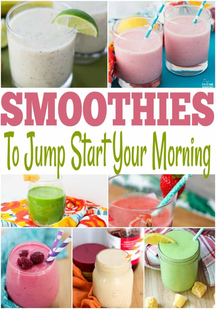 Delicious easy smoothie recipes. Breakfast ideas, breakfast recipes