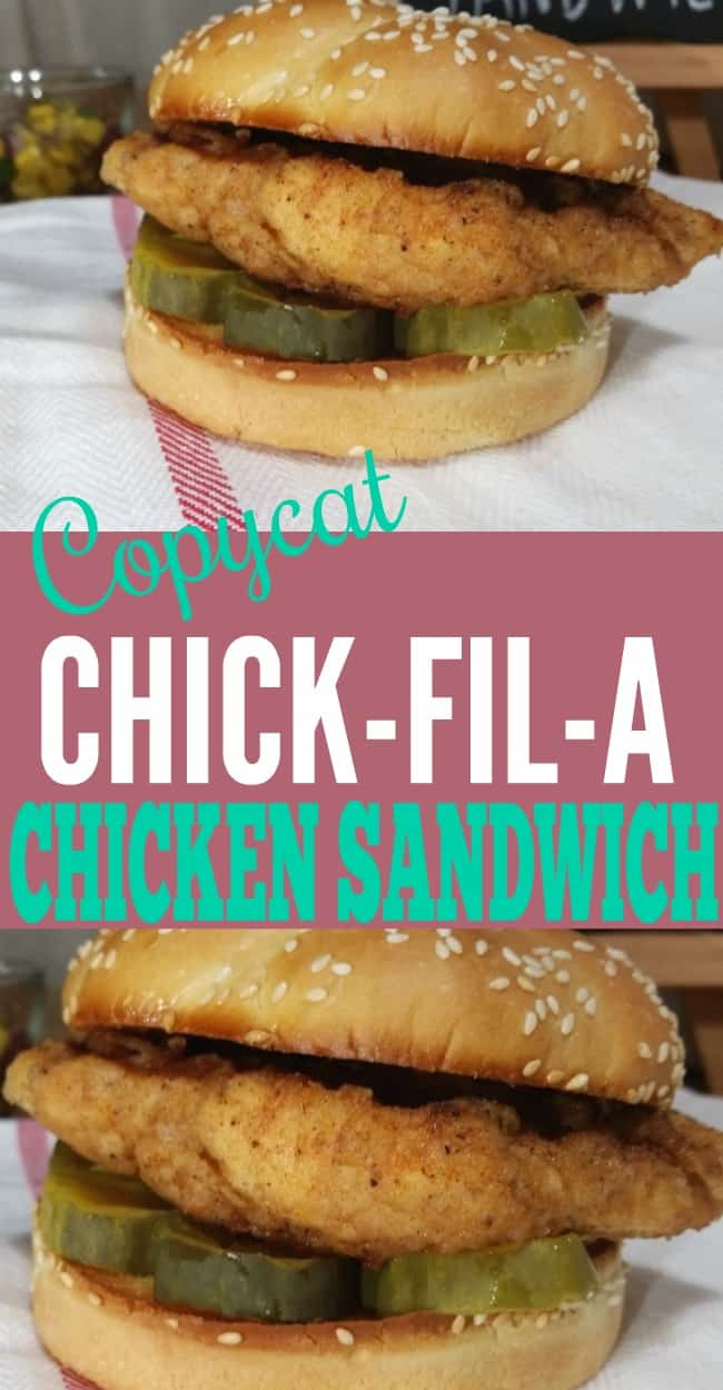 Chick-fil-A Sandwich Recipe, this copycat chicken sandwich dish is a super easy dinner idea. You can have a chick-fil-a recipe in under 20 minutes!