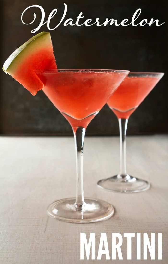 watermelon martini drink recipe
