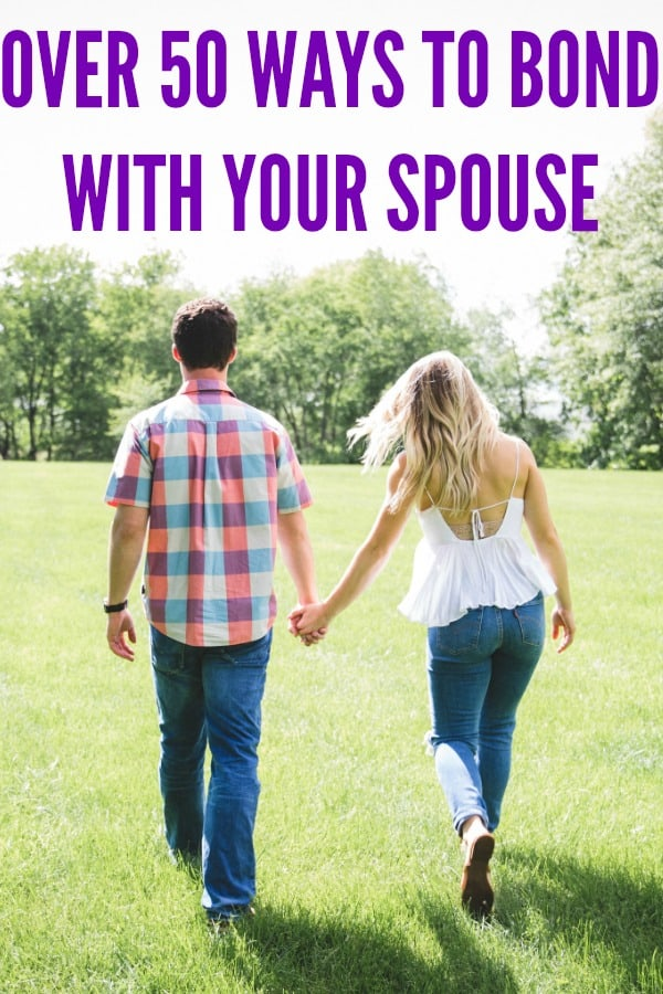 Use this list of activities for couples to create a deeper bond with your spouse.