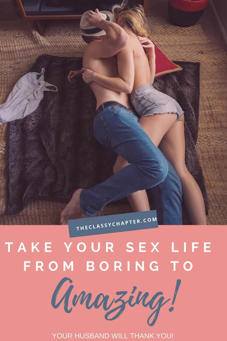 Feeling like you have a boring sex life lately? Use these simple tips to spice up your marriage and your sex life. Foreplay, communication and creating sexual tension are so important. Intimacy ideas for the bedroom.