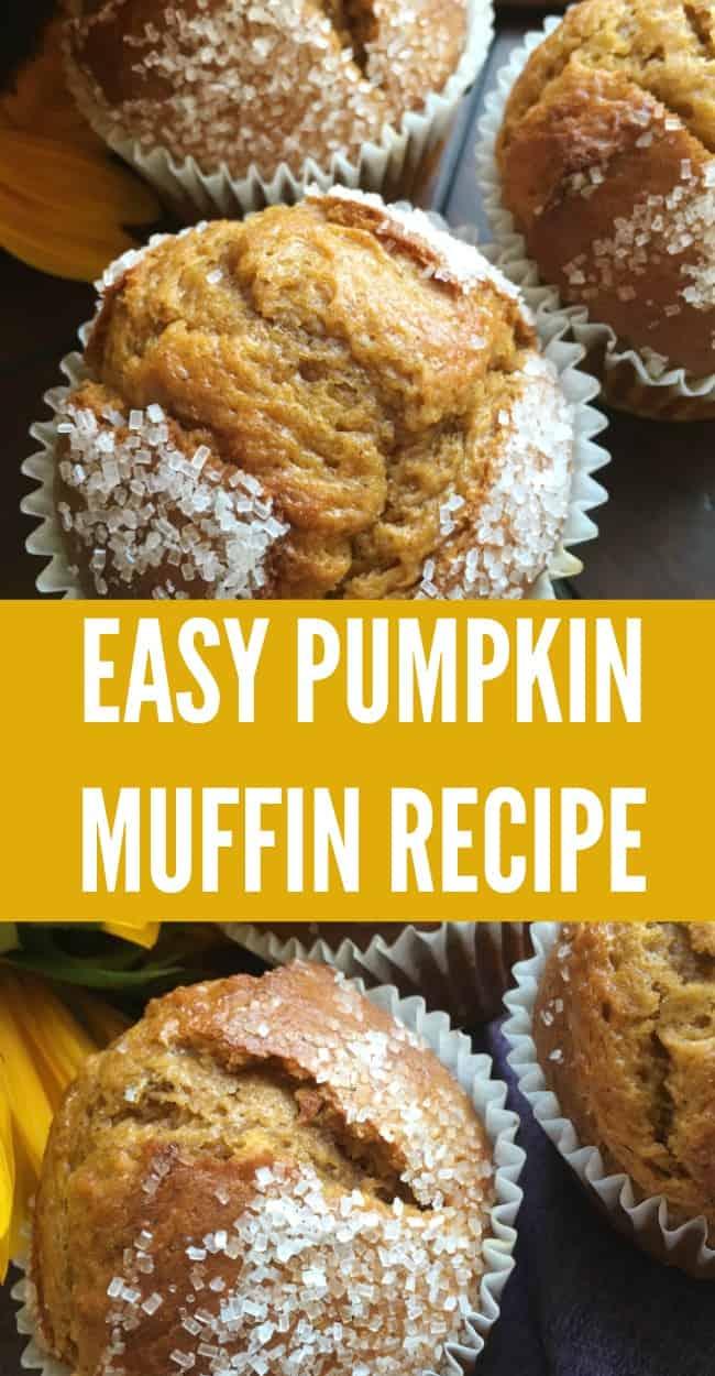 Delicious and easy pumpkin muffin recipe