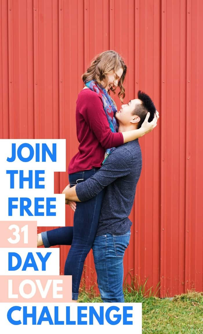 Rekindle your marriage with the 30 day love challenge!