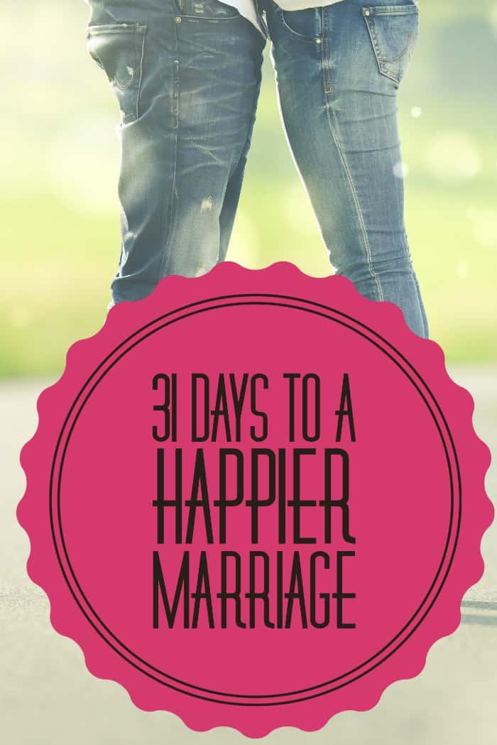 Create a happier marriage with this marriage challenge!