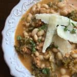 spicy white bean soup
