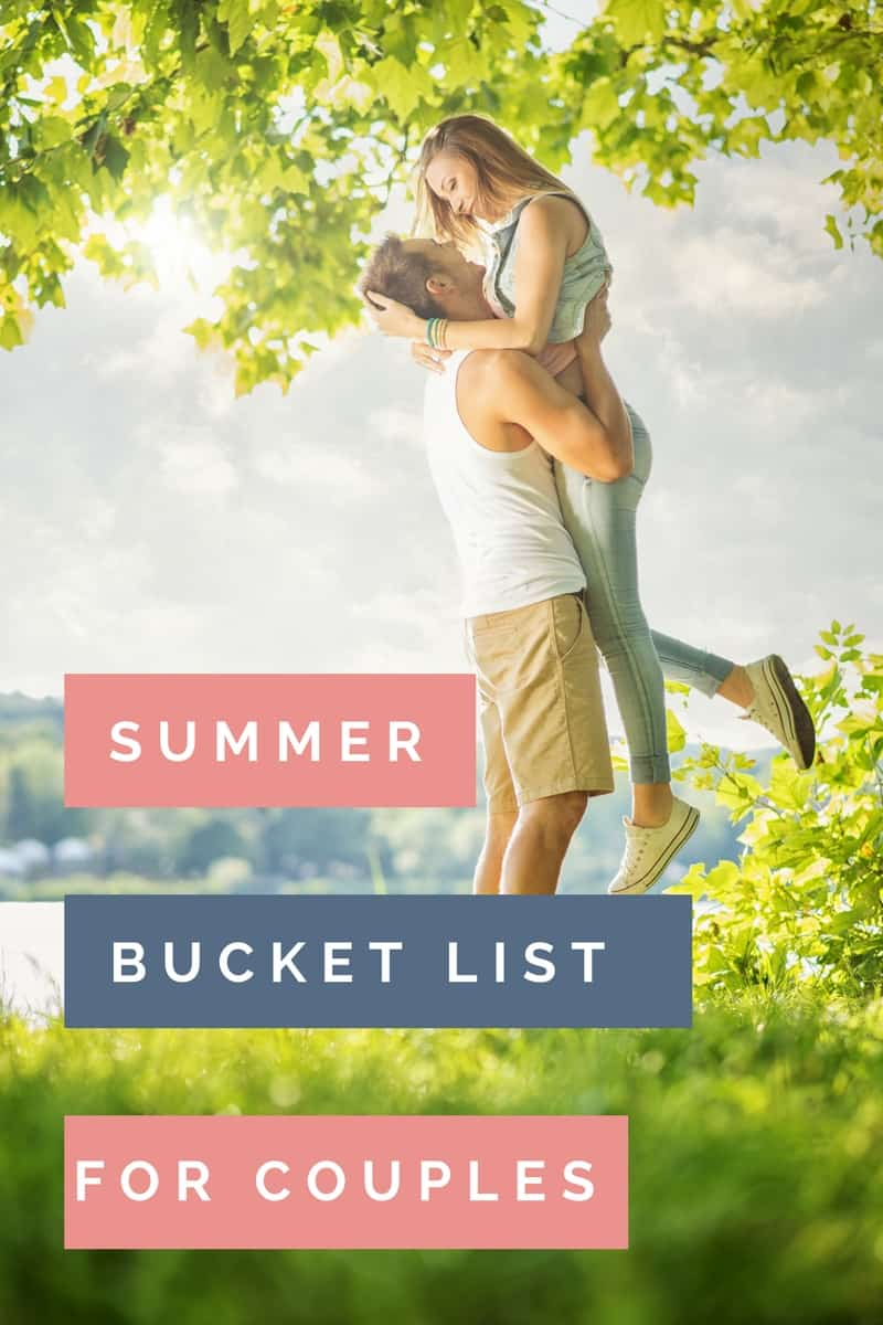 Ready to get in some good quality time with your spouse this summer? This bucket list for couples is the perfect way to do that.