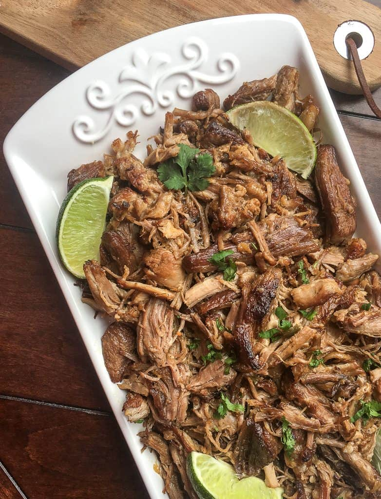 Looking for a good carnitas instant pot recipe? This authentic Mexican food instant pot recipe is to die for! You have to try this instant pot carnitas recipe.