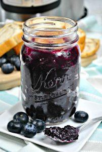 Instant Pot Homemade Jelly | Blueberry Jam