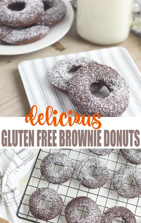 Looking for a healthy dessert? These gluten free brownies are mom and KID approved! Easy desserts, Gluten free desserts