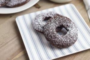 Gluten Free Brownie Donuts