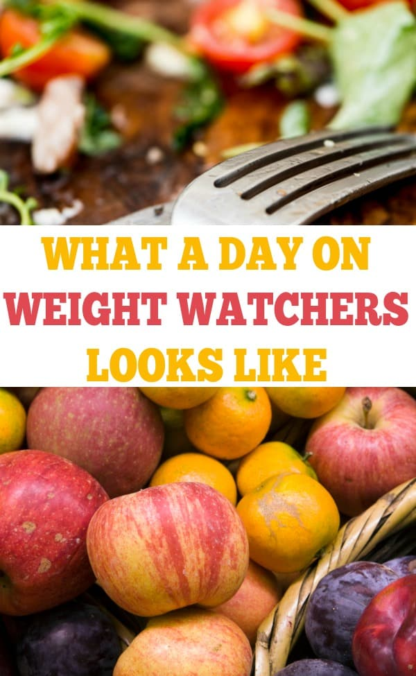 Ever wonder what a day on Weight Watchers looks like? Here is what I eat in a day on Weight Watchers. Weight Watchers Meal Plan included!