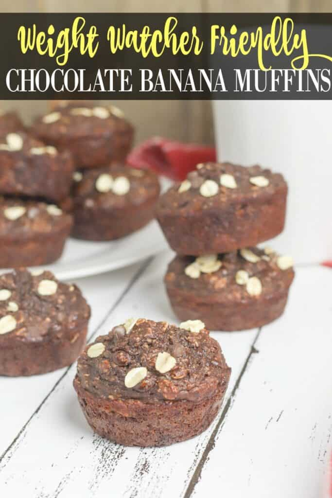 weight watcher chocolate muffins. low point dessert ideas