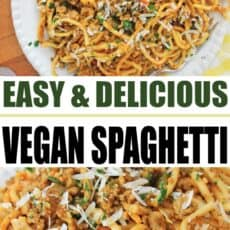 Vegan Spaghetti