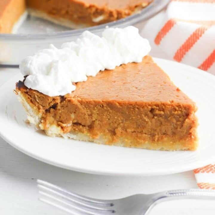 Weight Watchers Pumpkin Pie